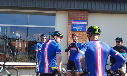Sat 21st Sept – Pink Group ride