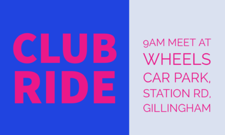 Pink Group Ride – Saturday 28th September 2019