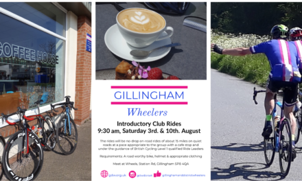 Introductory Club Rides – 3rd & 10th August