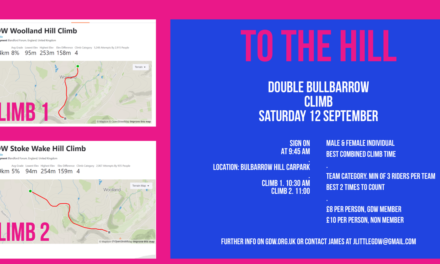Double Bulbarrow Hill Climb – Sat 12th September