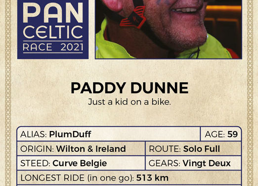 Pan Celtic Race 2021 – Paddy Dunne